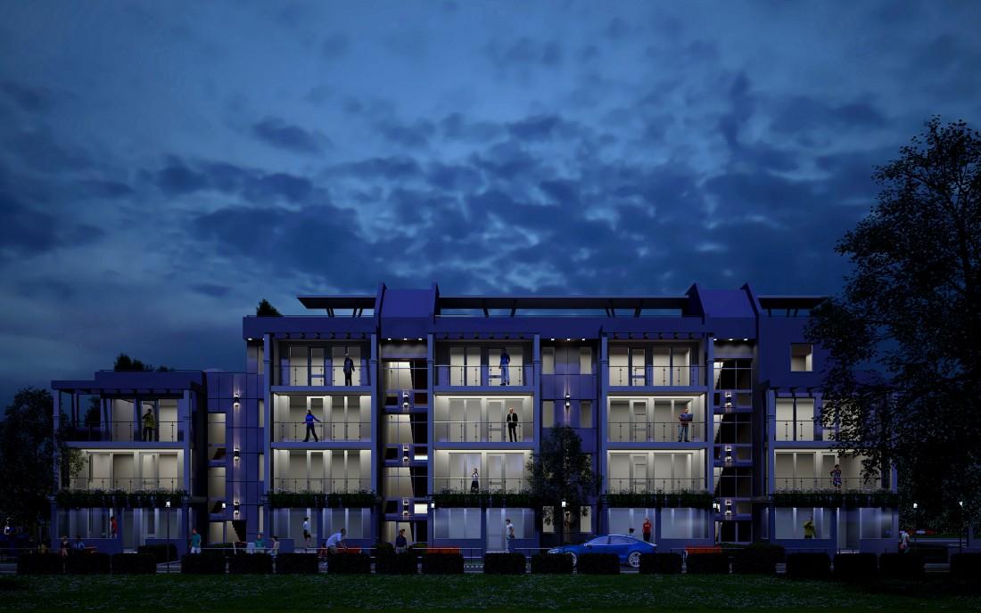 Nighty building